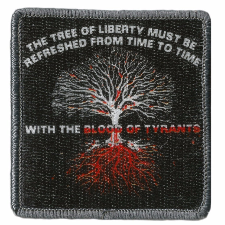 "3"" Square Blood Of Tyrants Tactical Patch"