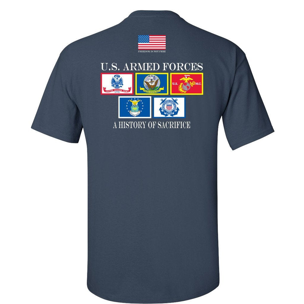 History of Sacrifice Navy Blue T-Shirt