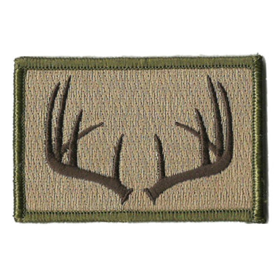 "2""x3"" Antlers Tactical Patch"