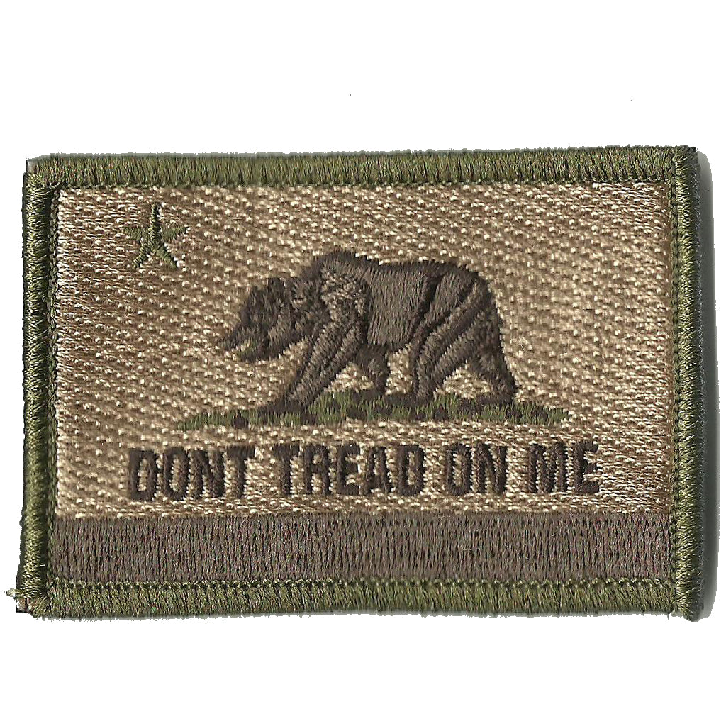Dont Tread On California Tactical Flag Patch