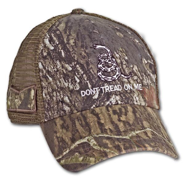 Real Tree Mesh Gadsden Don't Tread On Me Hat