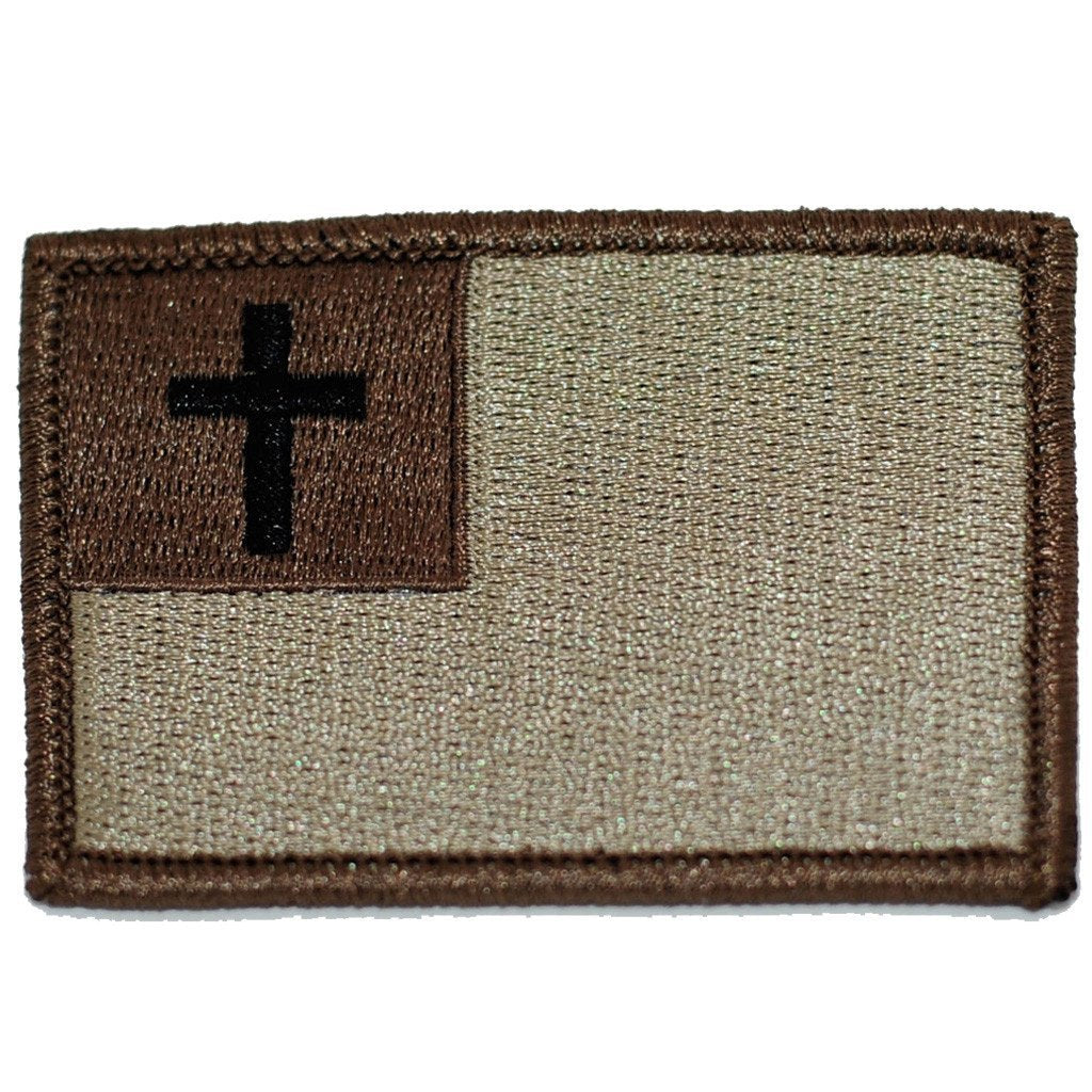 "2""x3"" Christian Flag Patch"