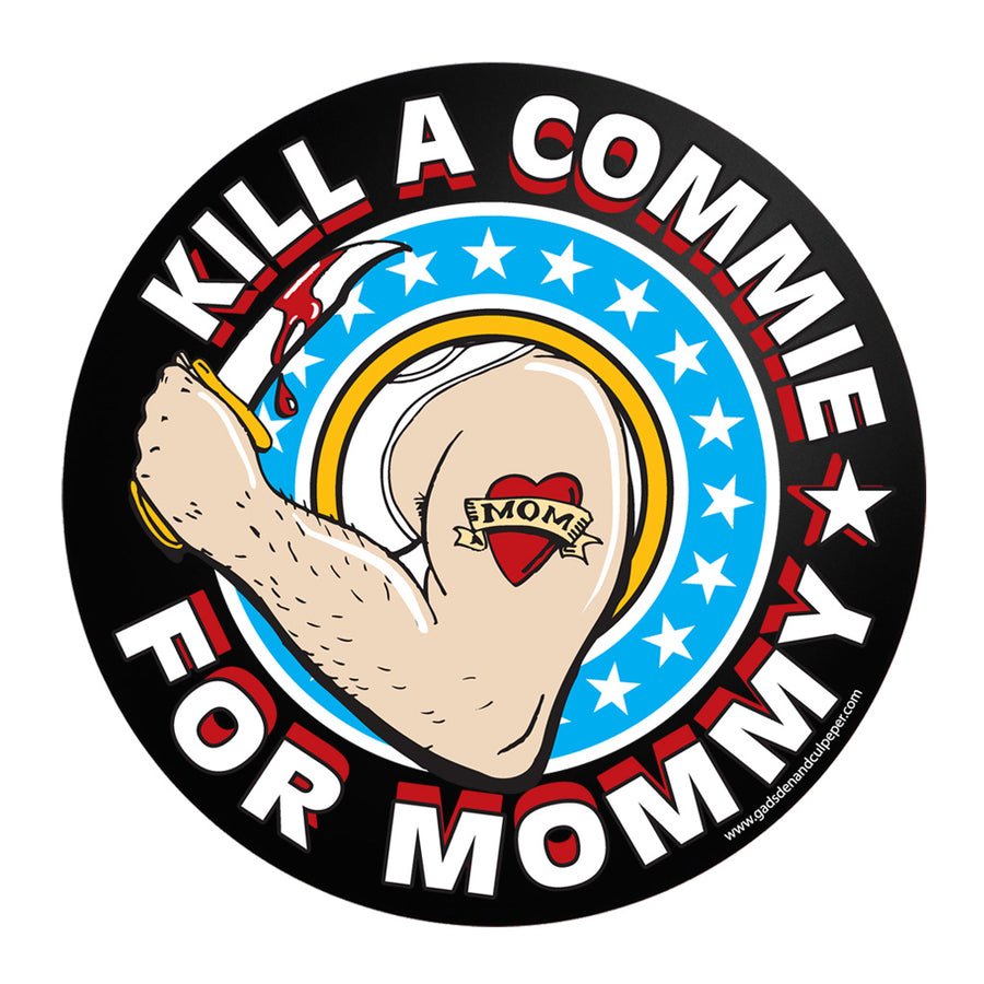 "3"" Commie Mommy Sticker"