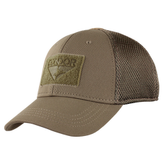 Mesh Condor Flex Tactical Cap - Coyote Brown