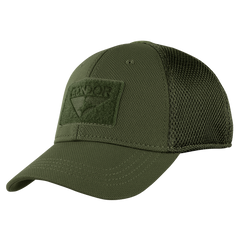 Build Your MESH-BACK Fitted Tactical Cap - Olive Drab