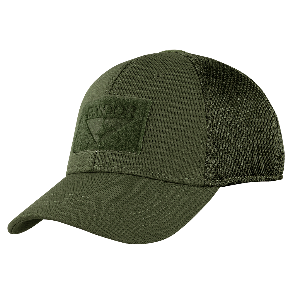 Mesh Condor Flex Tactical Cap - Olive Drab - Gadsden and Culpeper 52993c97c4c