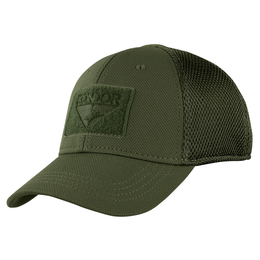 ... Build Your MESH-BACK Fitted Tactical Cap - Olive Drab f56d898c6f5
