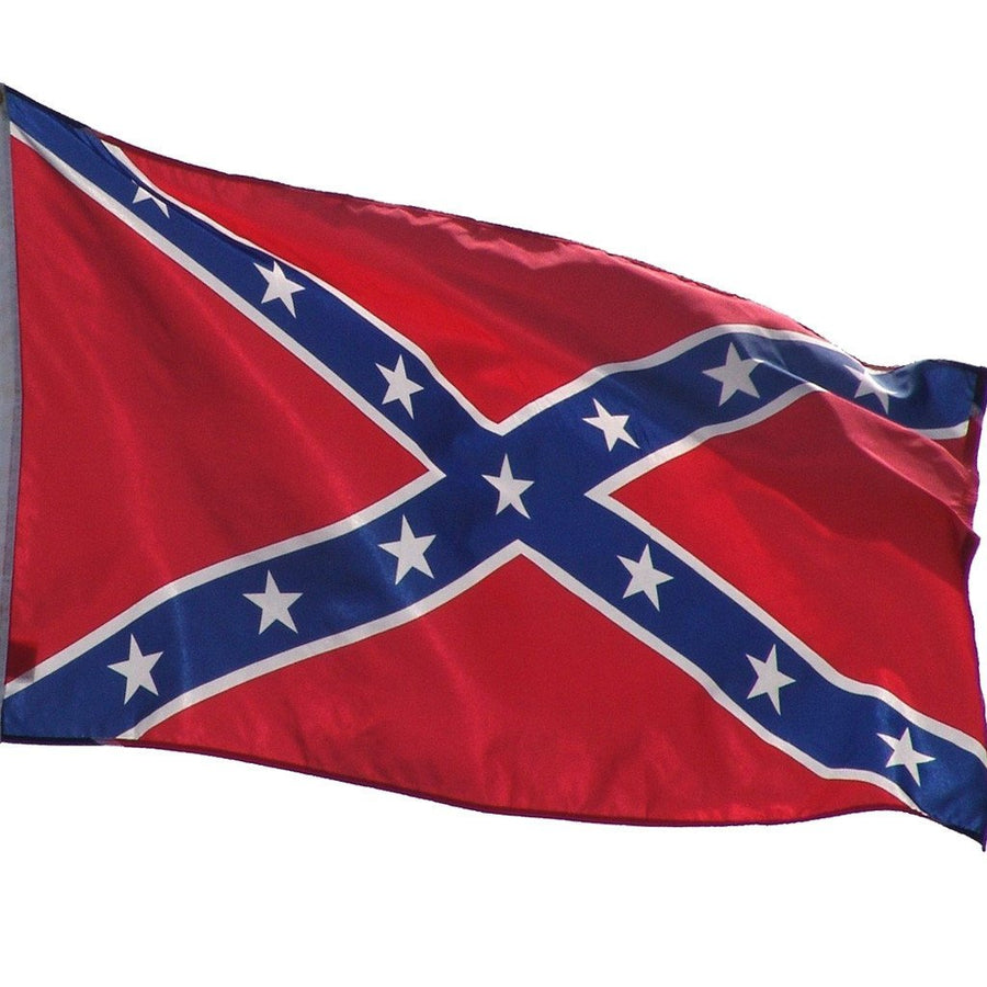 Confederate Premium Nylon Embroidered Flags 3 Sizes available
