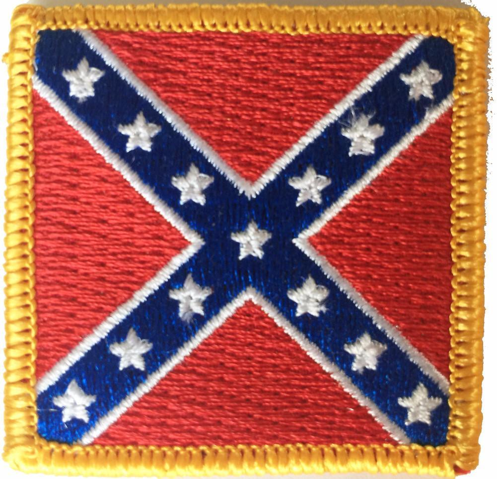 "2""x2"" Battle Flag Patch"