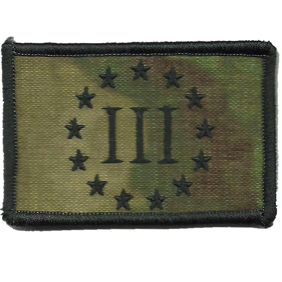 ATACS-FG - Threeper Emblem Tactical Patch