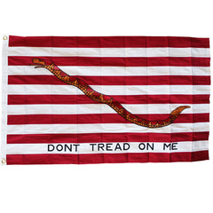 3x5 ft 1st Navy Jack Embroidered Cotton Flag