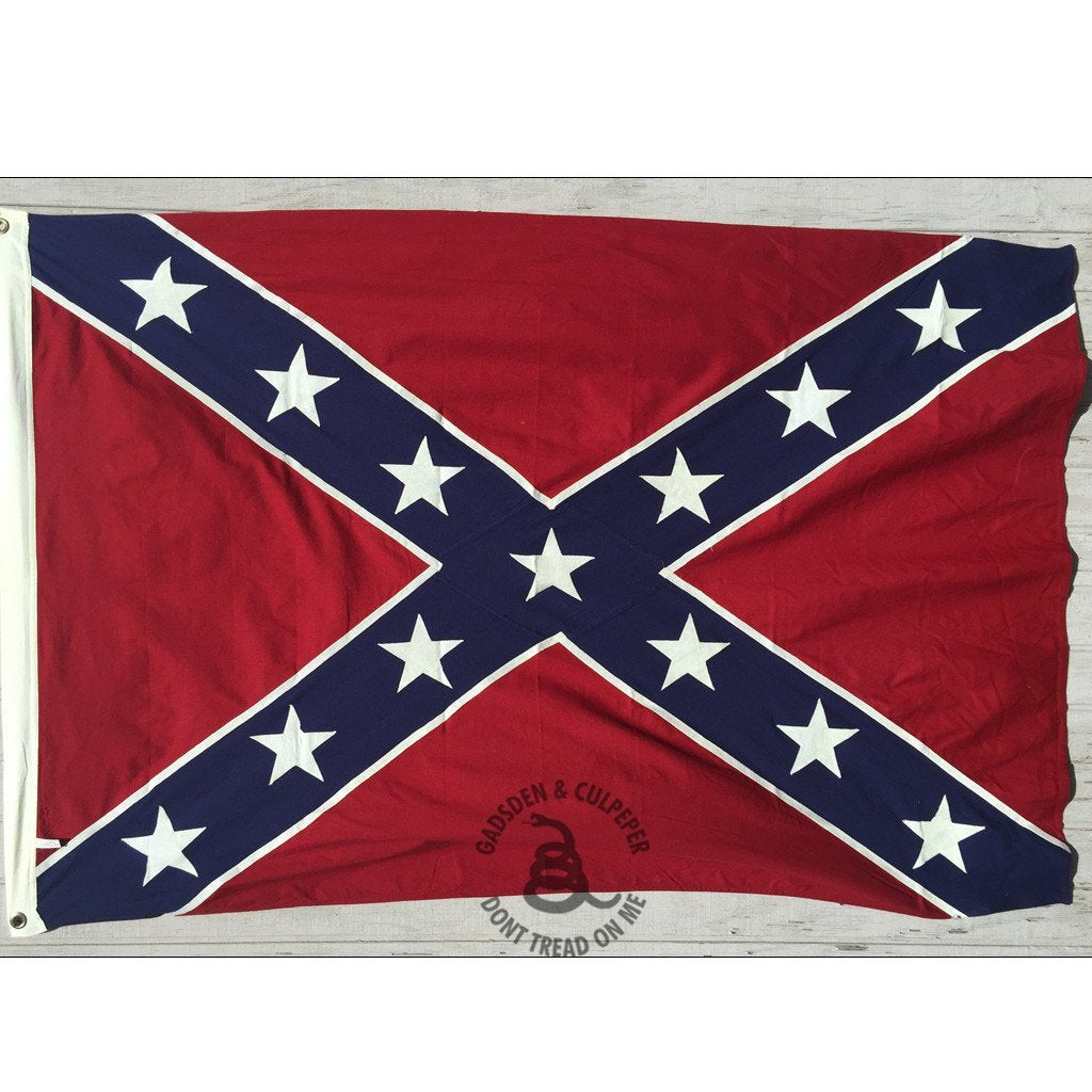 3x5 ft Confederate Sewn Cotton Flag