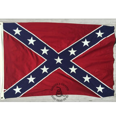 4x6 ft Confederate Sewn Cotton Flag