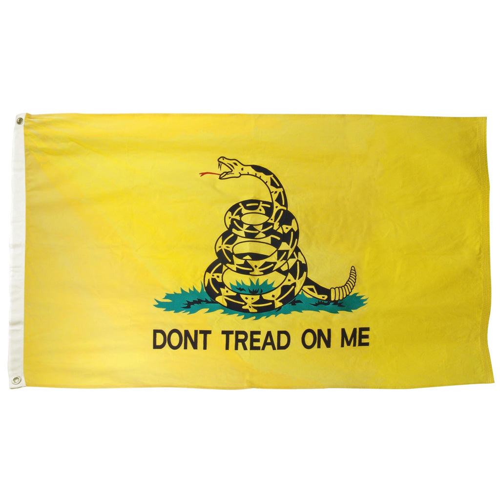 3x5 ft Gadsden Embroidered Cotton Flag