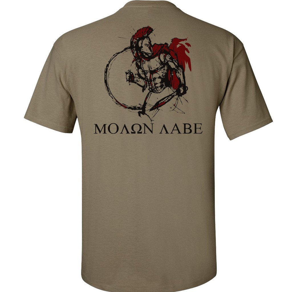 Coyote Spartan Warrior T-Shirt