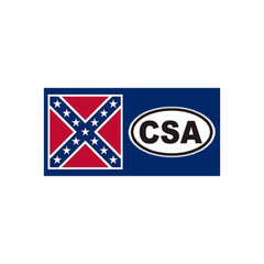 "4""x8"" CSA Bumper Sticker"