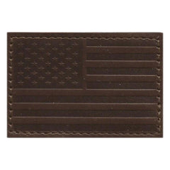 "2""x3"" Leather USA Tactical Patches"