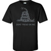Black Dark Print Gadsden T-Shirt