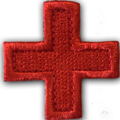 "2"" Die Cut Medic Cross Patch"