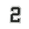 "Tactical Numbers 2"" x 1.25"" - Black"
