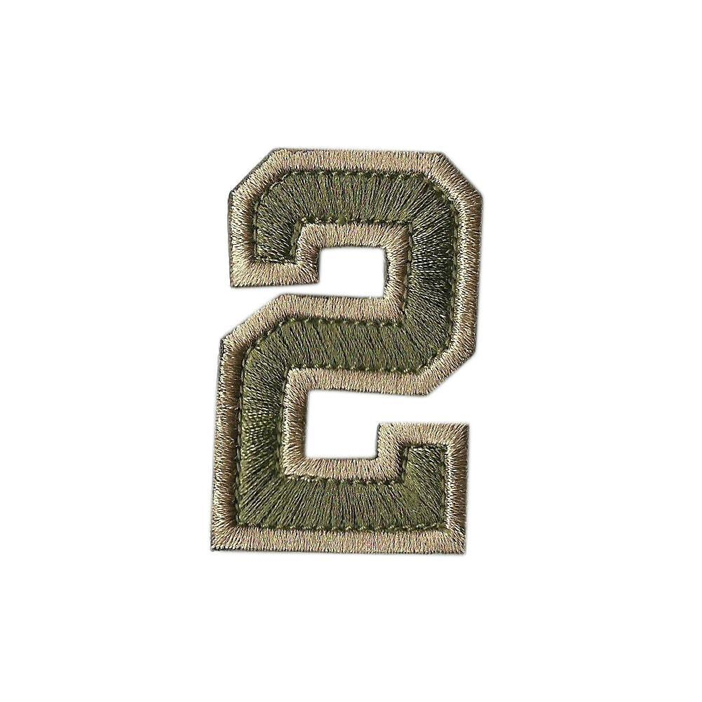 "Tactical Numbers 2"" x 1.25"" - View All Colors"
