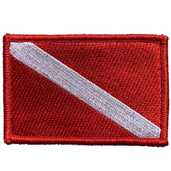 "2""x3"" Diver Down Tactical Patch"