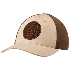 Tan/Brown Fitted - 5.11 Tactical Cap - Downrange 2.0
