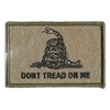 "Gadsden Tactical Patches- 2""x3"""