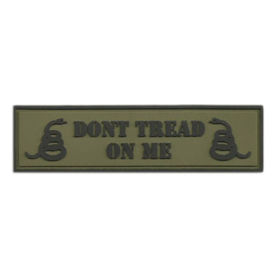 PVC Dont Tread On Me Morale