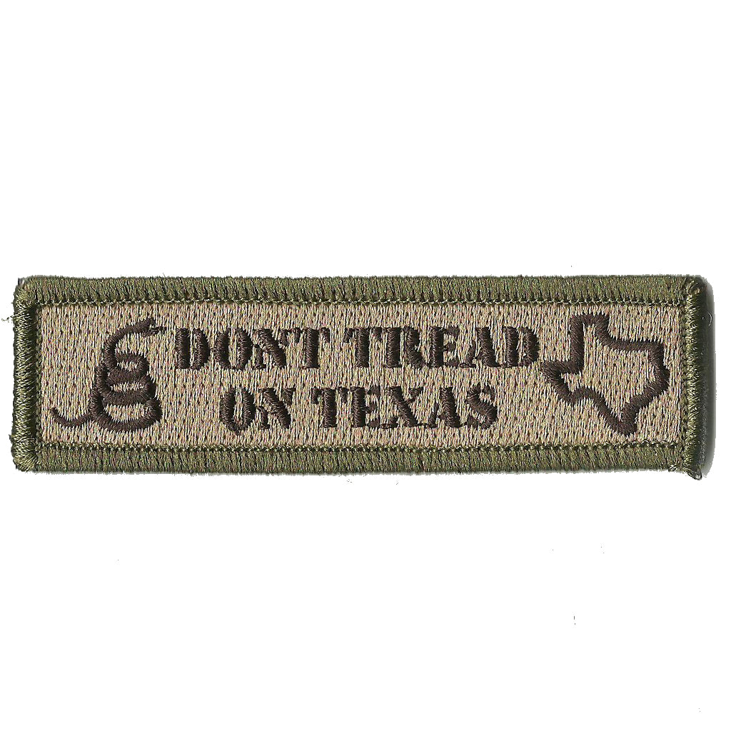 Dont Tread On Texas Tactical Flag Patch
