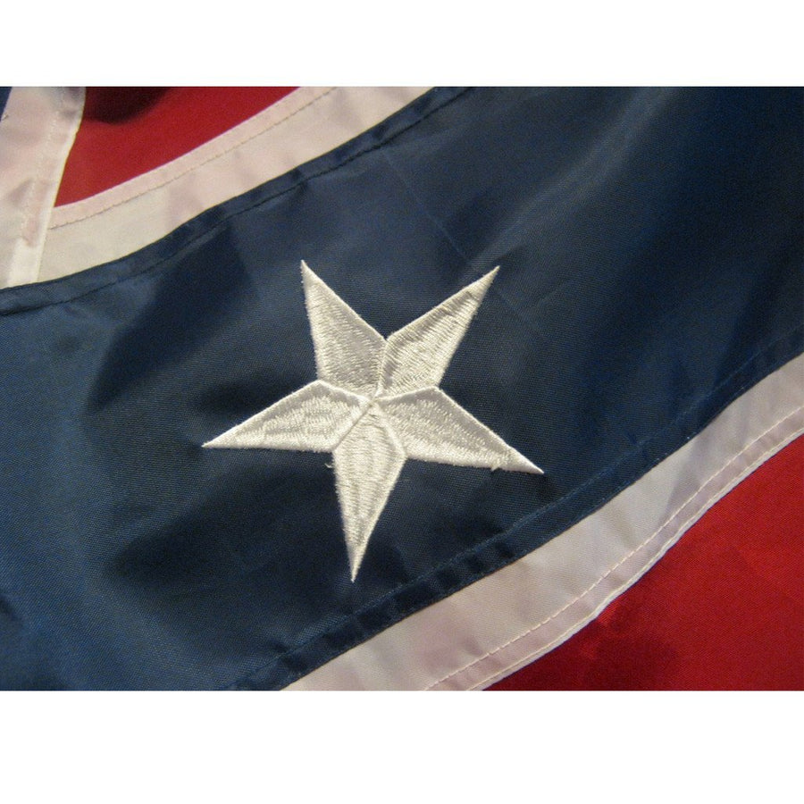 3x5 ft Confederate Embroidered Nylon Flag