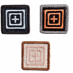 "5.11 Embroidered 1""x1"" Logo Patch Set"
