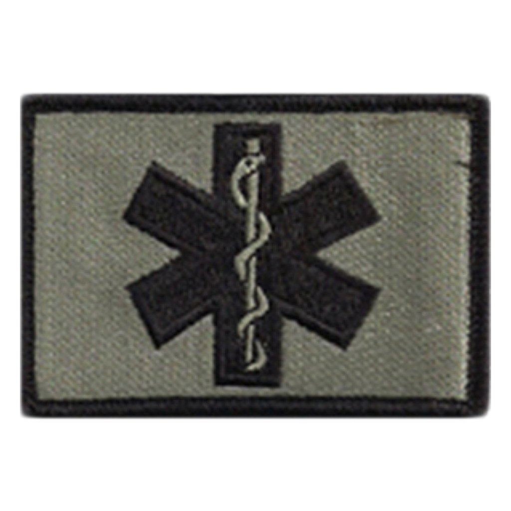 "2""x3"" EMT - Star Of Life Tactical Patch"