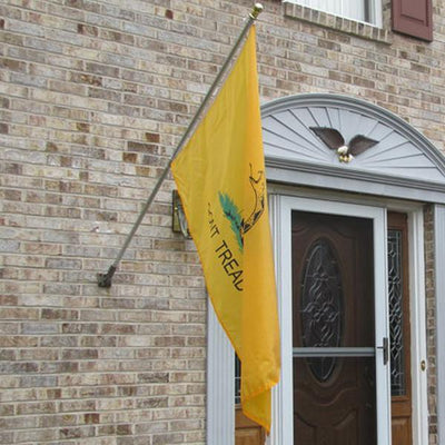 "3ft x 5ft ""DONT TREAD ON ME"" Complete Flag /Pole/Bracket Set"