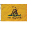 "Double-Sided Motorcycle Gadsden Flag - 6"" x 9"""