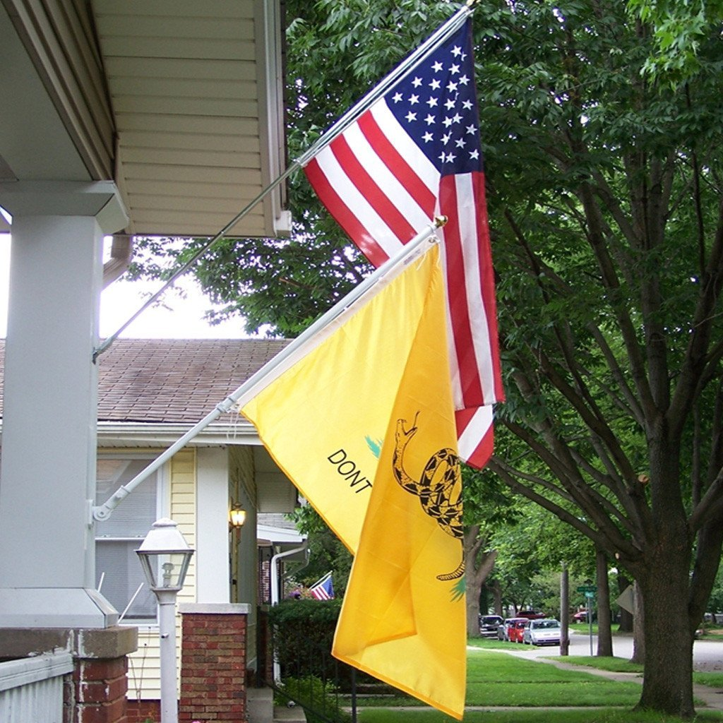 Gadsden Premium Nylon Flag - Annin Co. 3 Sizes Available