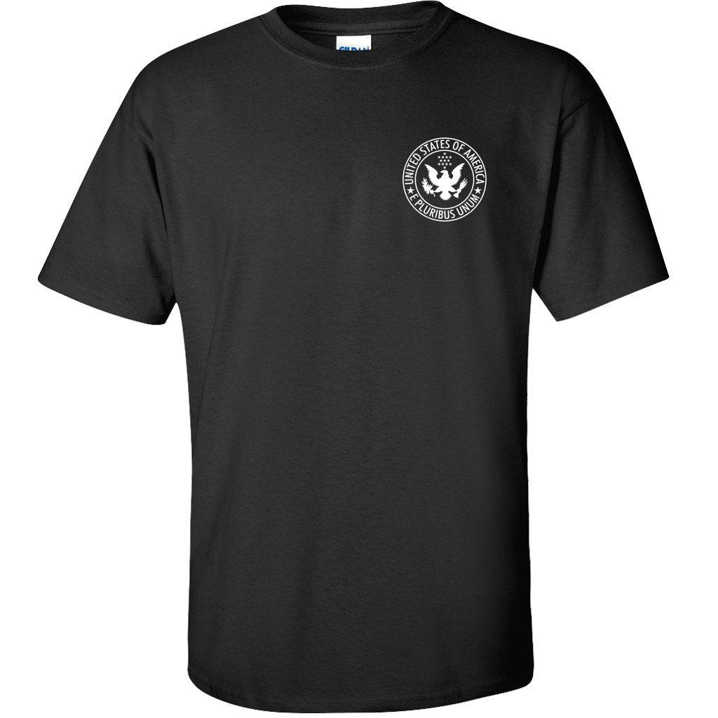 Black IN GOD WE TRUST T-Shirt