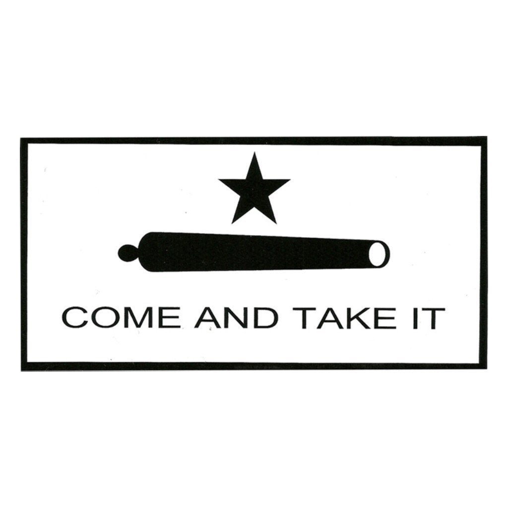 The Gonzales Vinyl Bumper Sticker