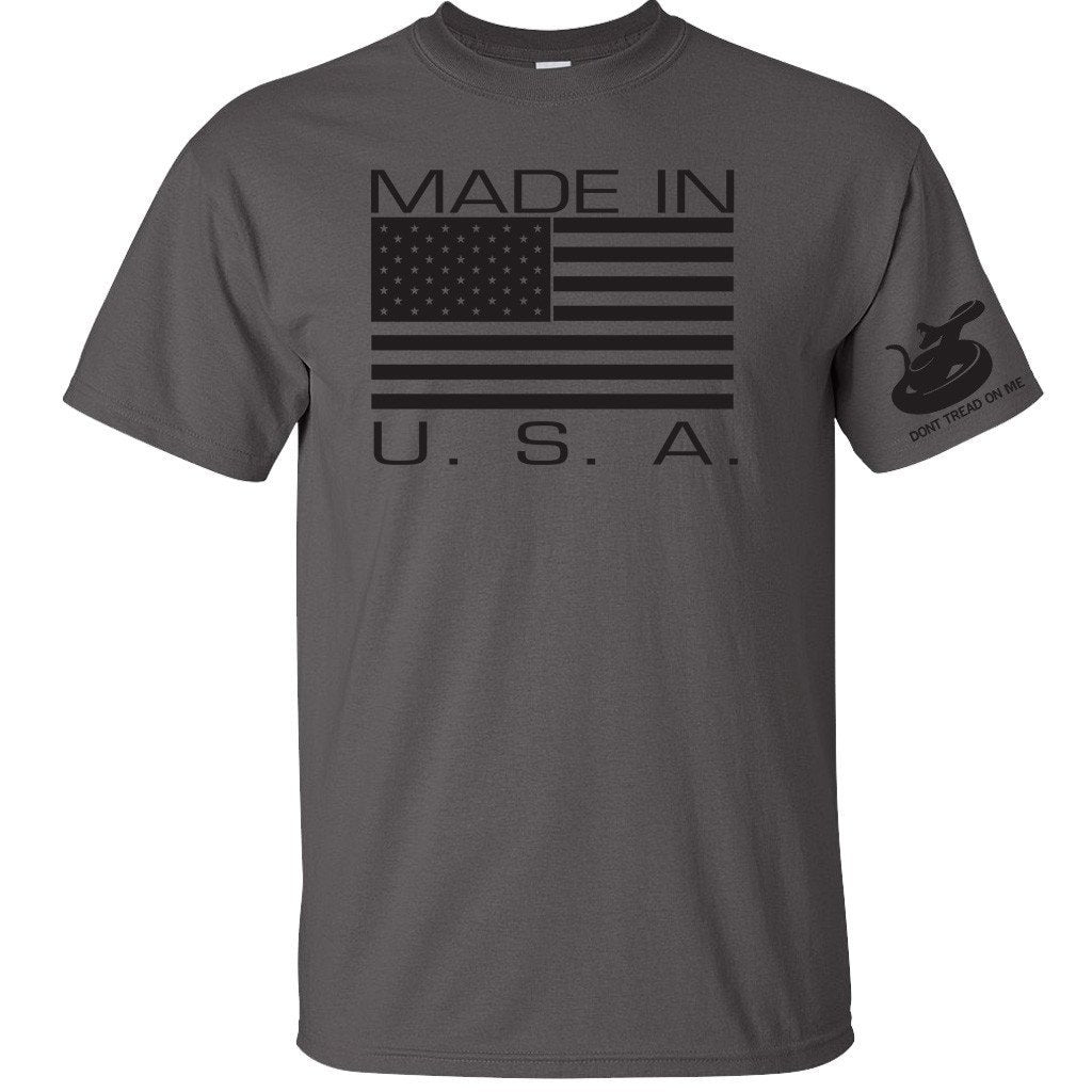 Made In USA Graphite T-Shirt