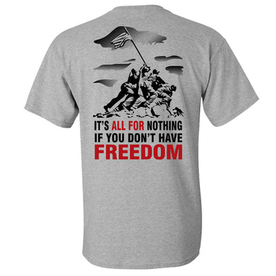 Iwo Jima Athletic Grey T-Shirt