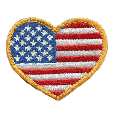 USA Heart Flag