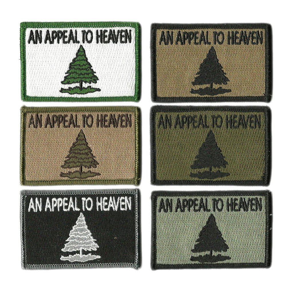 "2""x3"" Appeal To Heaven Tactical Patches"