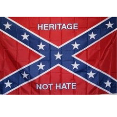 3x5 ft Heritage Not Hate Poly Flag
