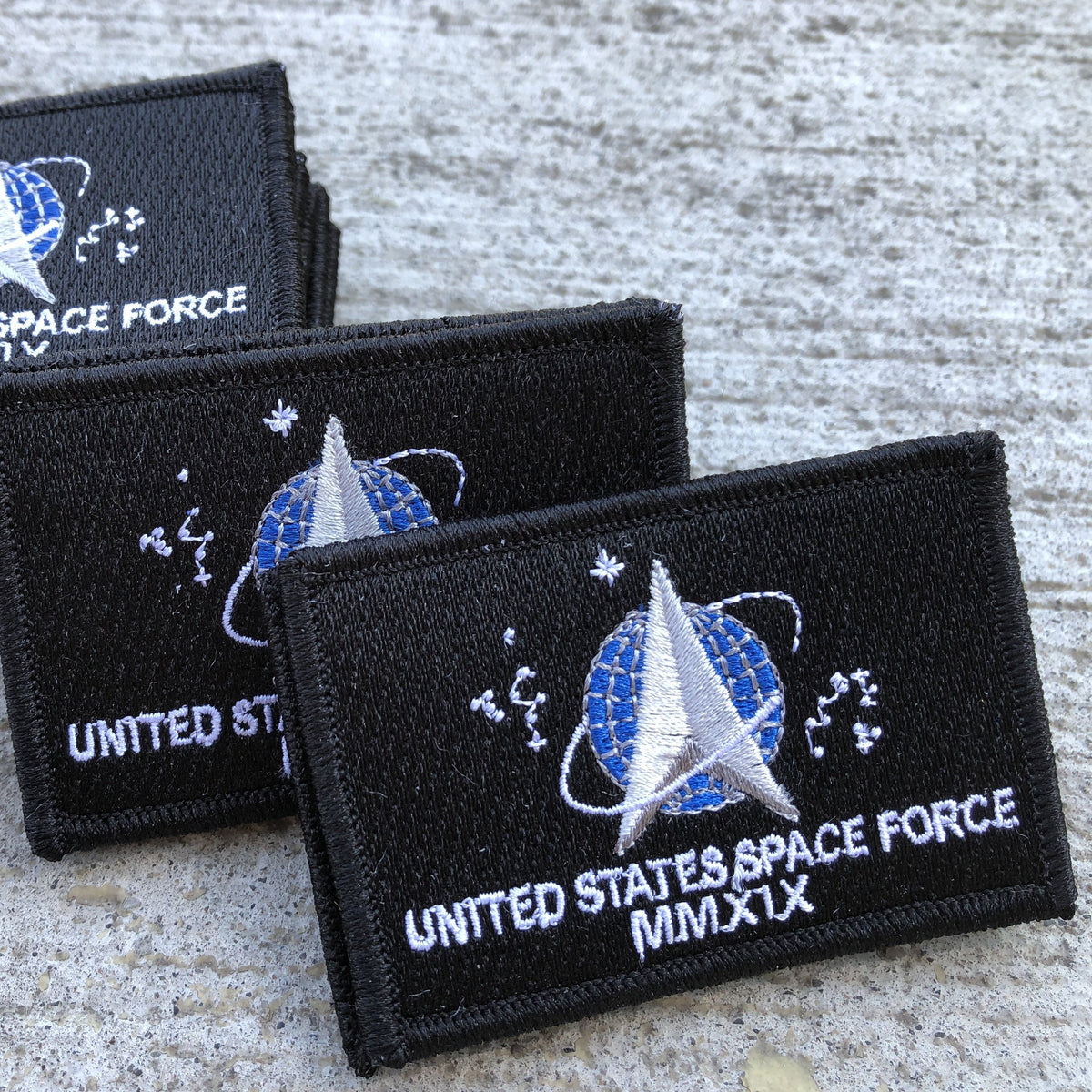 "2""x3"" US Space Force Tactical Patches"