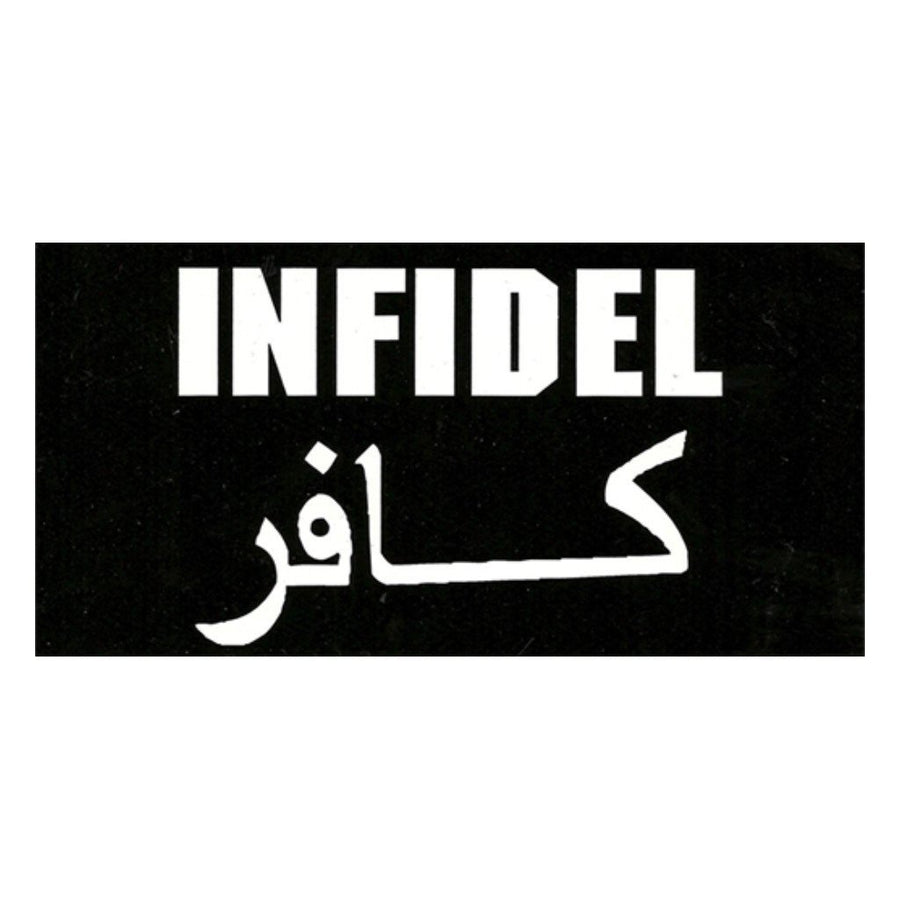 "4""x8"" INFIDEL Sticker"