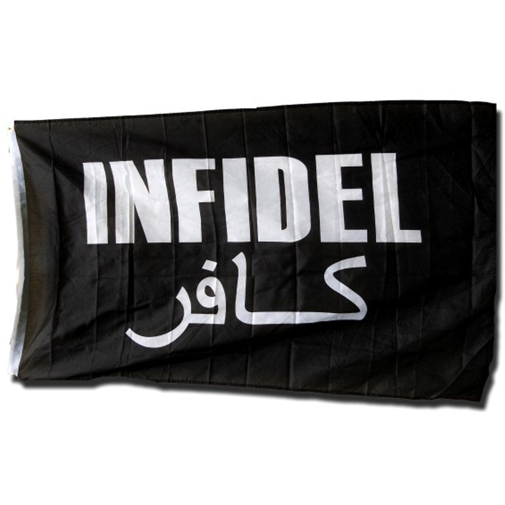 3x5 ft INFIDEL Super-Poly Flag
