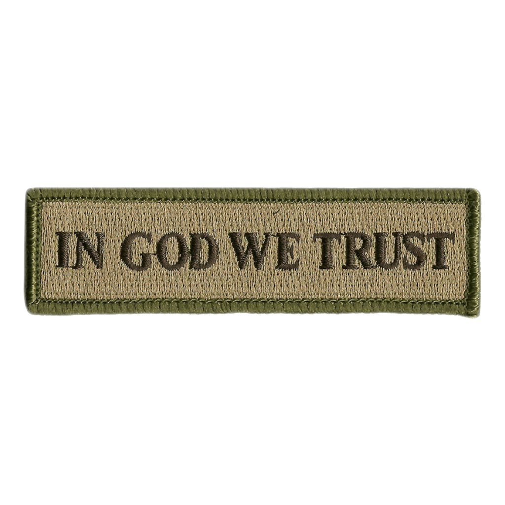 In God We Trust Patch Religious /& Patriotic Patches