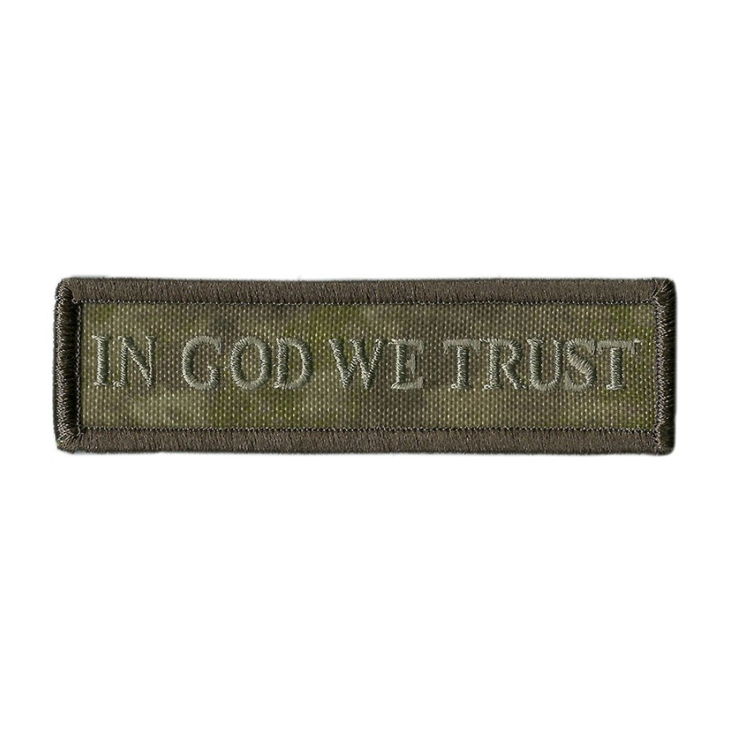 ATACS-AU - In God We Trust Morale Patch