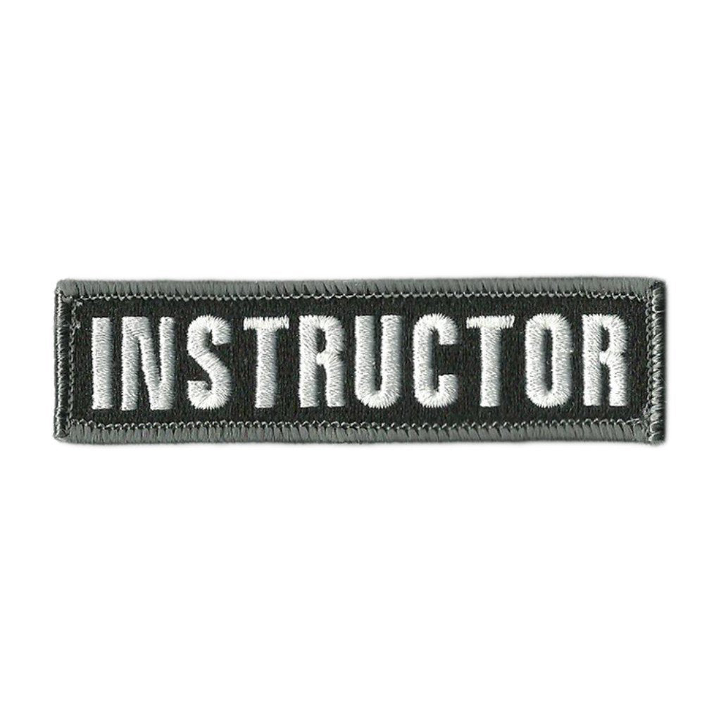 Instructor Tactical Morale Patches