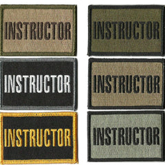 "2""x3"" Instructor Tactical Patch"
